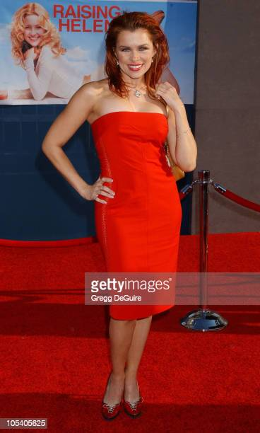 Alicia Arden during Raising Helen Los Angeles Premiere Arrivals at El Capitan Theatre in Hollywood California United States