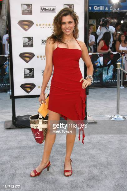 Alicia Arden during 'Superman Returns' Los Angeles Premiere at Mann Village and Bruin Theaters in Westwood California United States