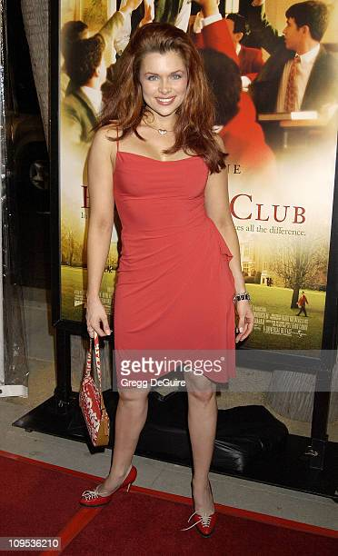 Alicia Arden during The Emperor's Club Premiere Los Angeles at Academy Theatre in Beverly Hills California United States