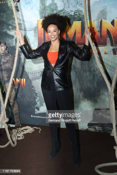 Alicia Aylies attends the photocall of the Jumanji Next Level film at le Grand Rex on December 03 2019 in Paris France