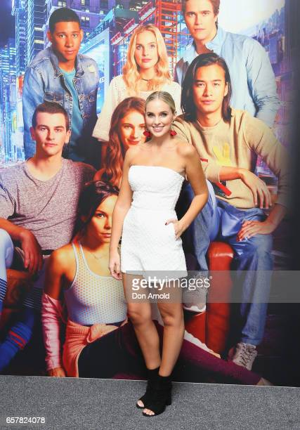 Alicia Banit arrives ahead of the Dance Academy World Premiere at Event Cinemas George Street on March 26 2017 in Sydney Australia