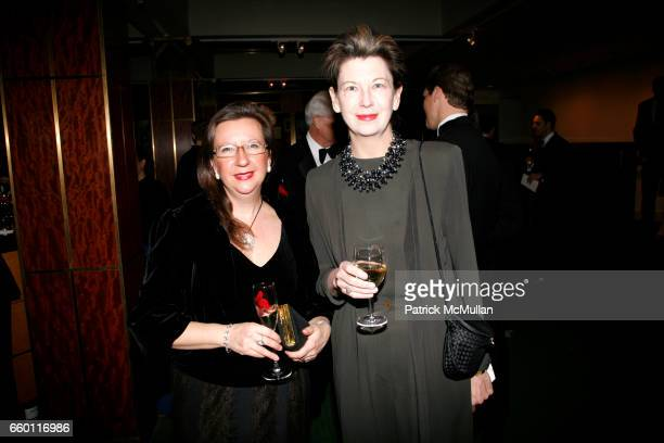 Alicia Benoit and Lynn Loacker attend NEW YORK CITY OPERA Winter Gala at Carnegie Hall on January 15 2009 in New York City