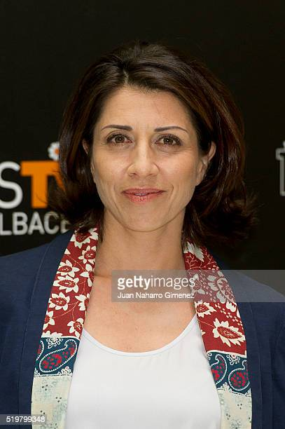 Alicia Borrachero attends 'La Embajada photocall during FeTval at Museo Municipal de Albacete on April 8 2016 in Albacete Spain