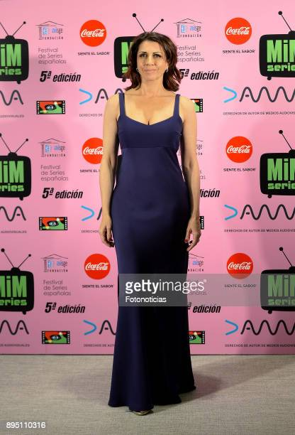 Alicia Borrachero attends the 2017 MIM Series Awards at the ME Hotel on December 18 2017 in Madrid Spain