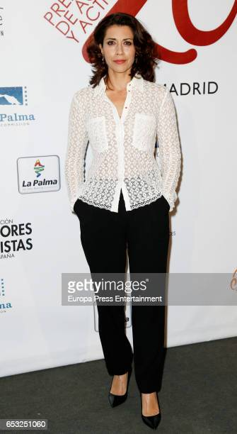 Alicia Borrachero attends the XXVI Union de Actores awards on March 13 2017 in Madrid Spain