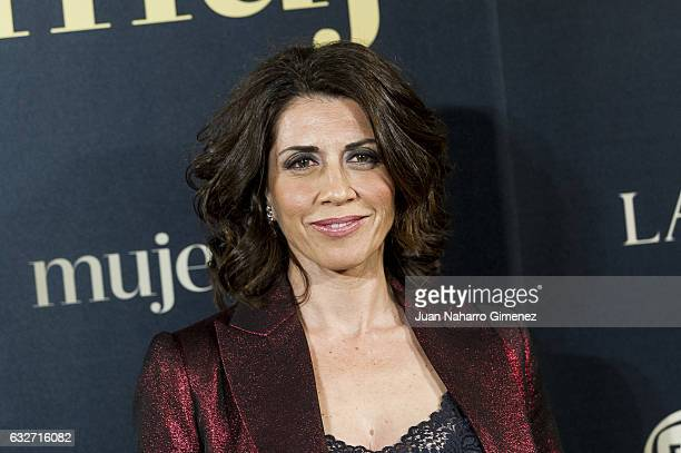 Alicia Borrachero attends 'VII Premios Mujer Hoy' at Casino de Madrid on January 25 2017 in Madrid Spain