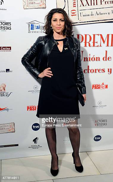 Alicia Borrachero attends 'XXIII Union de Actores Awards' at Coliseum Theatre on March 10 2014 in Madrid Spain
