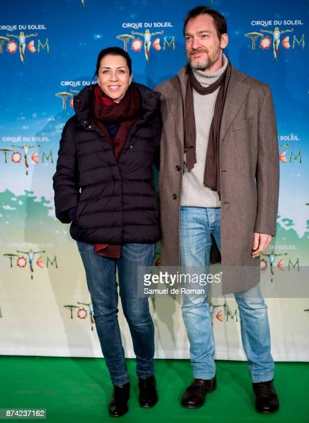 Alicia Borrachero during 'Cirque Du Soleil' Premiere in Madrid on November 14 2017 in Madrid Spain