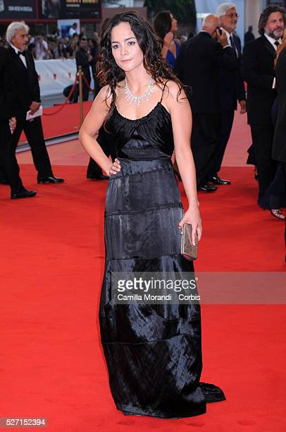 Alicia Braga arrives at the closing ceremony of the 65th Venice Film Festival