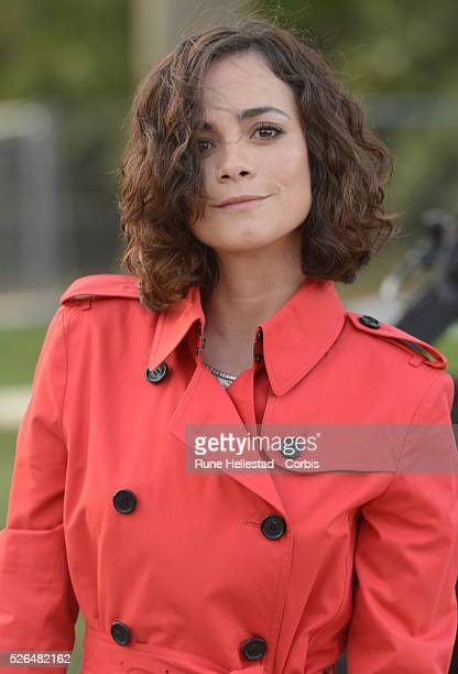 Alicia Braga attends Burberry Prorsum's Autumn/ Winter 2013 fashion show at London Fashion Week