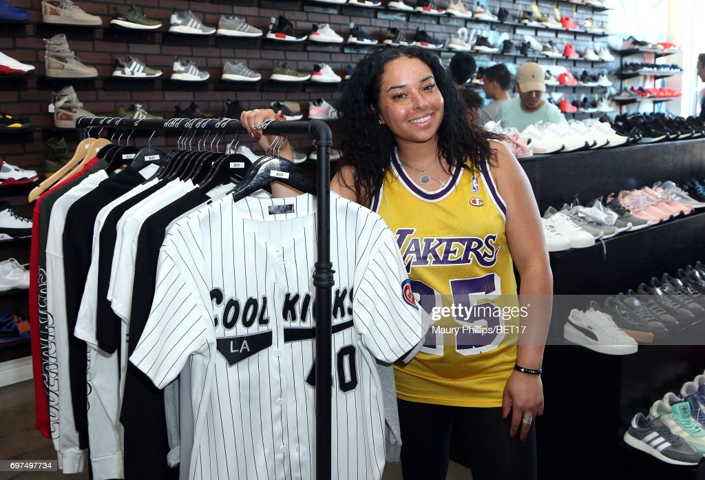 Alicia Burch attends BETX Pop Up at Cool Kicks on June 18, 2017 in Los Angeles, California.