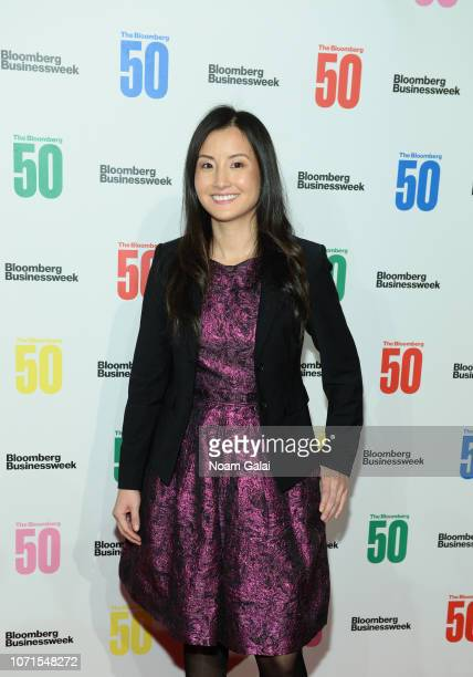 Alicia Chong Rodriguez attends 'The Bloomberg 50' Celebration at Cipriani 25 Broadway on December 10 2018 in New York City