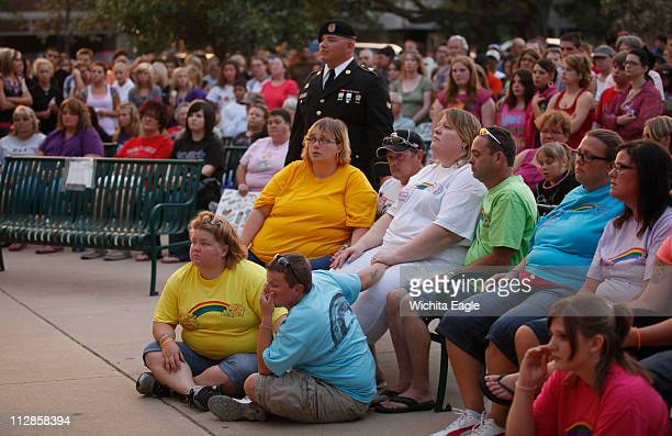 Alicia DeBolt's family gathered for a candlelight prayer vigil in downtown Great Bend Kansas to honor her memory on Monday August 30 2010 Alicia's...