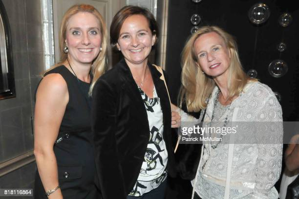 Alicia DeGrado Stephanie McClennon and Clare Traub attend FASHION's NIGHT OUT with VAN CLEEF and ARPELS at Van Cleef and Arpels 5th Ave on September...