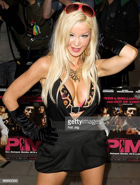 Alicia Douvall attends the UK Film Premiere of 'Pimp' at Odeon Covent Garden on May 19 2010 in London England