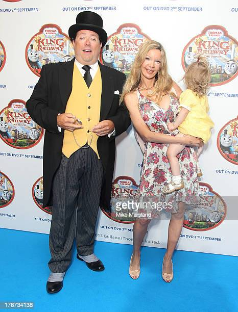 Alicia Douvall attends VIP Screening of Thomas & Friends: King Of The Railway at Vue Leicester Square on August 18, 2013 in London, England.
