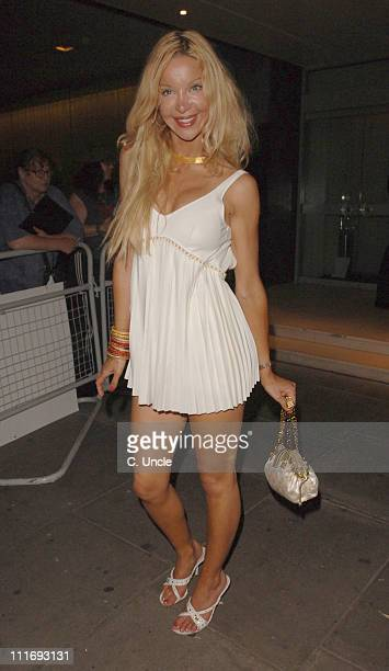 Alicia Douvall during 'Miami Vice' London Premiere After Party at Sanderson Hotel in London Great Britain