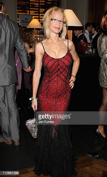 Alicia Duvall attends the Specsavers Spectacle Wearer Of The Year 2007 Awards in aid of Diabetes UK held at the Waldorf Hilton Hotel on October 9...