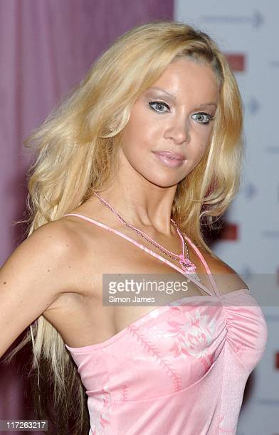 Alicia Duvall during A Touch Of Pink VIP Fundraising Party at Madame Tussauds in London Great Britain
