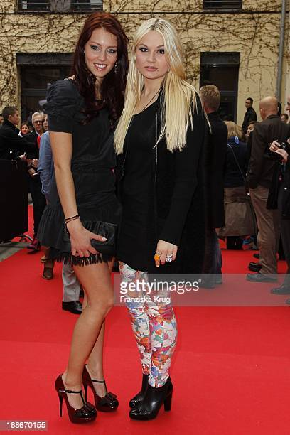 Alicia Endemann And Franziska Alber At The Premiere Of Germany House of Anubis Path The 7 sins in Berlin