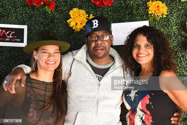 Alicia Etheredge Bobby Brown and Sonia Kang attend the Culture Friendship By Multiculti Corner Mixed Up Clothing Fashion Show on December 1 2018 in...