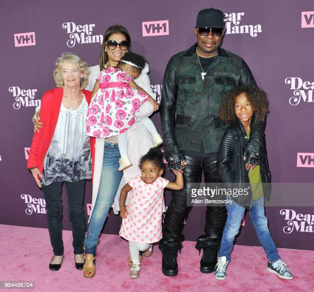 Alicia Etheredge Bobby Brown Cassius Brown and daughter Bodhi Brown attend VH1's 3rd Annual 'Dear Mama A Love Letter To Moms' at The Theatre at Ace...