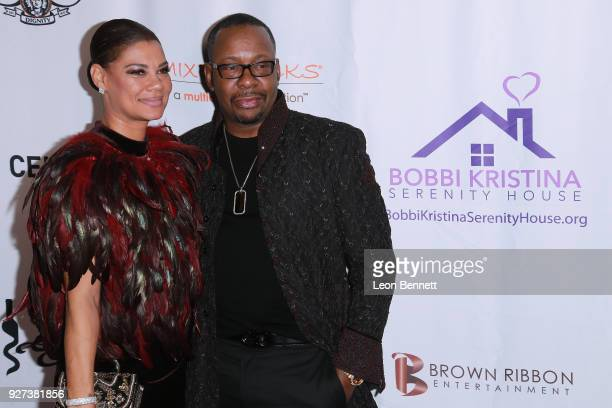 Alicia EtheredgeBrown and Bobby Brown attends Bobbi Kristina Serenity House Gala at Taglyan Cultural Complex on March 4 2018 in Hollywood California