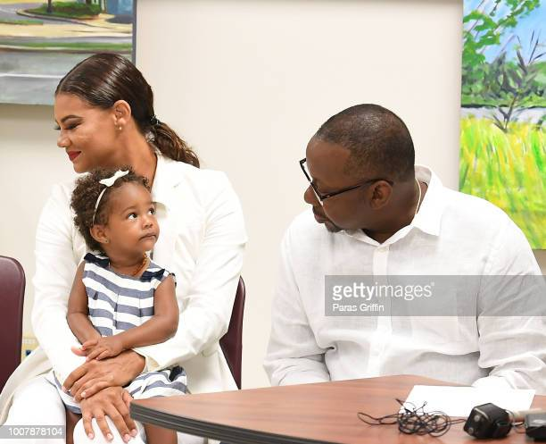 Alicia EtheredgeBrown Hendrix Brown and Bobby Brown attend Proclamation to Bobby Brown To Honor the 'Bobbi Kristina Serenity House' at South Fulton...
