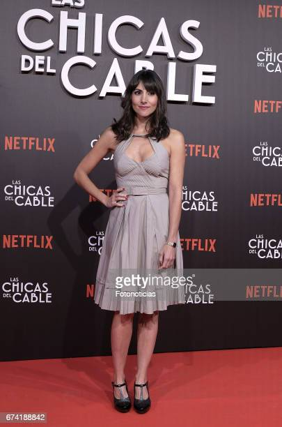 Alicia Fernandez attends the 'Las Chicas del Cable' Netflix Tv Series premiere at Callao Cinema on April 27 2017 in Madrid Spain