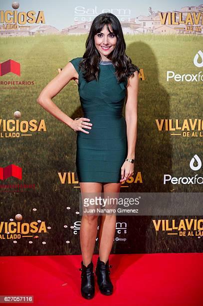 Alicia Fernandez attends 'Villaviciosa De Al Lado' premiere at Capitol Cinema on December 1 2016 in Madrid Spain