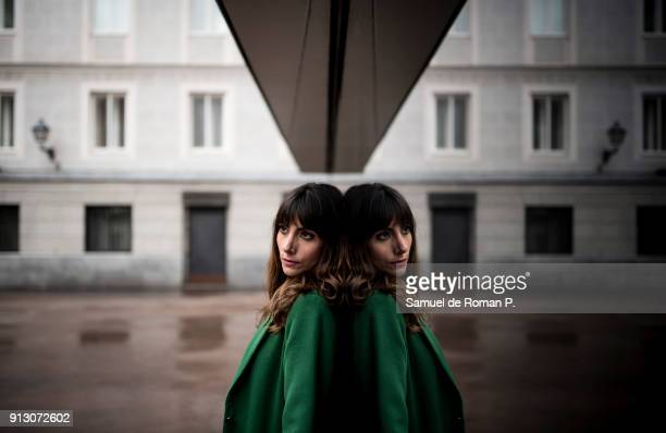Alicia Fernandez Portrait Session in Caixaforum Madrid on January 25 2018 in Madrid Spain