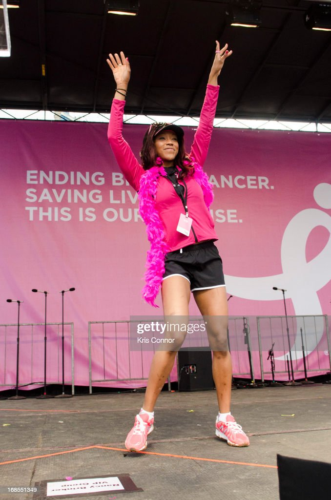 Alicia Fox attends The 24th Annual Susan G. Komen Global Race For The Cure on May 11, 2013 in Washington, United States.