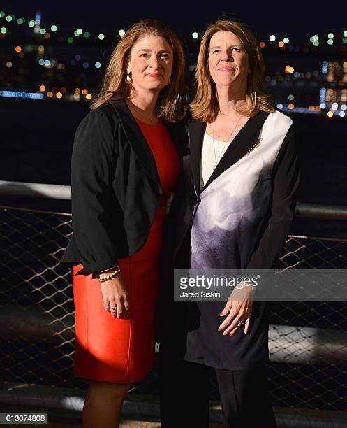 Alicia Glen and Nancy Webster attend the Brooklyn Bridge Park Conservancy hosts the Brooklyn Black Tie Ball at Pier 2 at Brooklyn Bridge Park on...