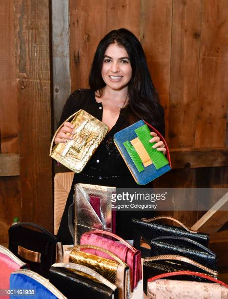 Alicia Halegua of Metalskin attends the Hamptons Magazine London Jewelers Host A Luxury Shopping Afternoon at Topping Rose House on July 18 2018 in...
