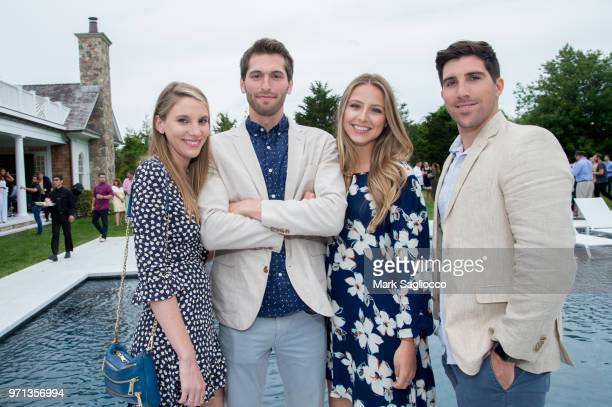 Alicia Horvath Matt Horvath Ashley Peleckis and Connor McInerney attend Hamptons Magazine Celebration with cover star Bubba Watson on June 10 2018 in...