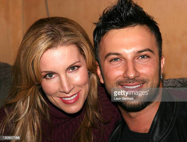 Alicia Jacobs and Tarkan during Antonio Tarver Presents MGM's Rocky Balboa Premiere Release KickOff Bash at The Garden of Eden in Los Angeles...