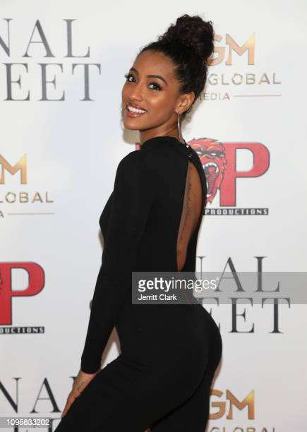 Alicia JaNina Gordillo attends Smith Global Media's World Premiere of Canal Street at ArcLight Hollywood on January 17 2019 in Hollywood California