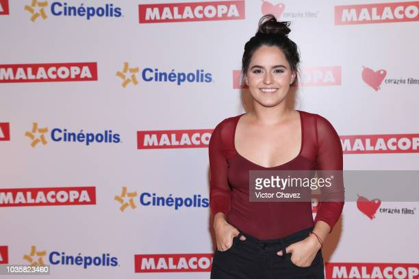 Alicia Jaziz attends the 'Malacopa' Mexico City premiere at Cinepolis Plaza Carso on September 18 2018 in Mexico City Mexico