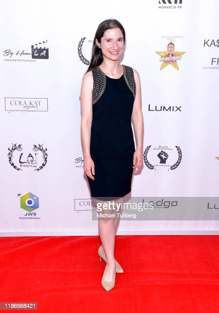 Alicia Joy LeBlanc attends the Kash Hovey and Friends Film Block at Film Fest LA at Regal Cinemas LA LIVE Stadium 14 on November 09 2019 in Los...