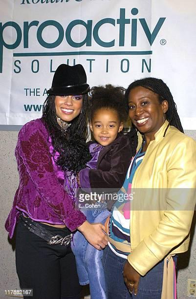 Alicia Keys Amandala Stenberg and Karen Brailsford from InTouch