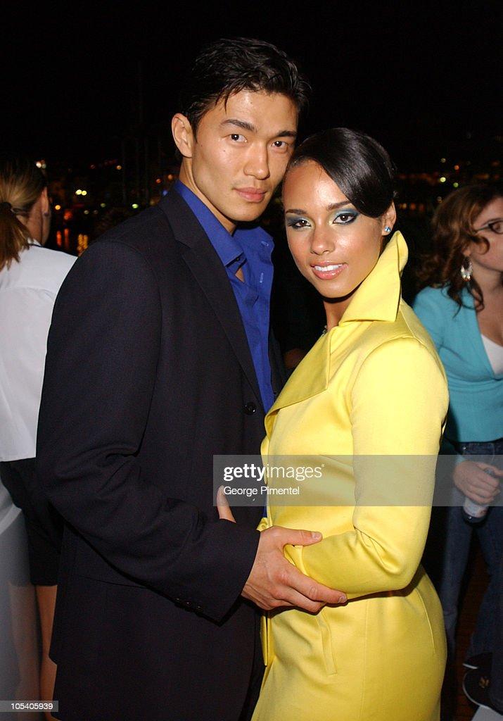 2004 Cannes Film Festival - Budweiser Hosts Alicia Keys Party : News Photo