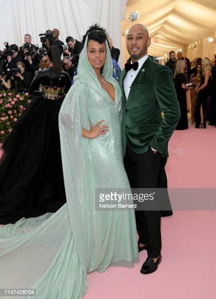 Alicia Keys and Swizz Beatz attend The 2019 Met Gala Celebrating Camp Notes on Fashion at Metropolitan Museum of Art on May 06 2019 in New York City