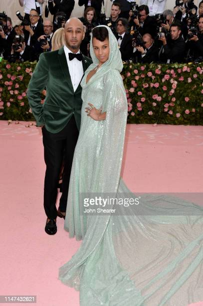 Alicia Keys and Swizz Beatz attends The 2019 Met Gala Celebrating Camp Notes On Fashion at The Metropolitan Museum of Art on May 06 2019 in New York...