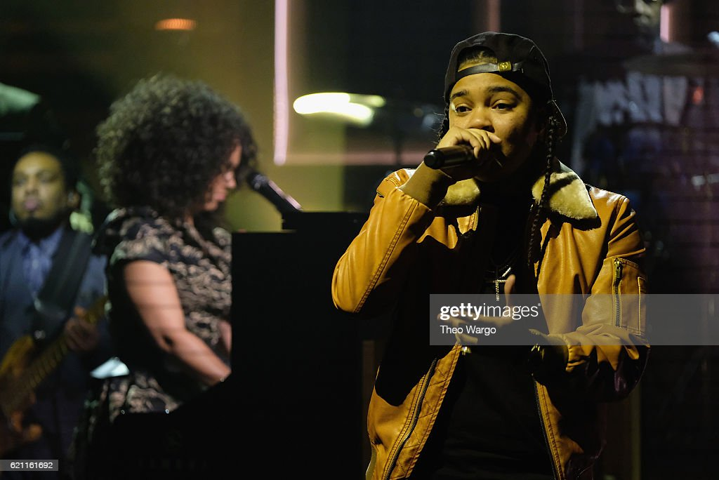 Alicia Keys and Young M.A. perform during a taping of 'The Tonight Show Starring Jimmy Fallon' at Rockefeller Center on November 4, 2016 in New York City.