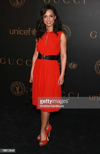 Alicia Keys arrives at the Madonna Gucci Present A Night to Benefit Raising Malawi at the United Nations on February 6 2007 in New York City