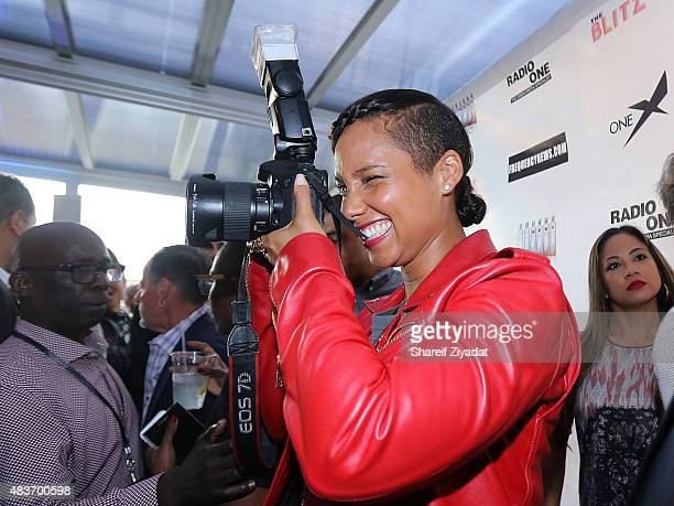 Alicia Keys at Stage 48 on August 11 2015 in New York City