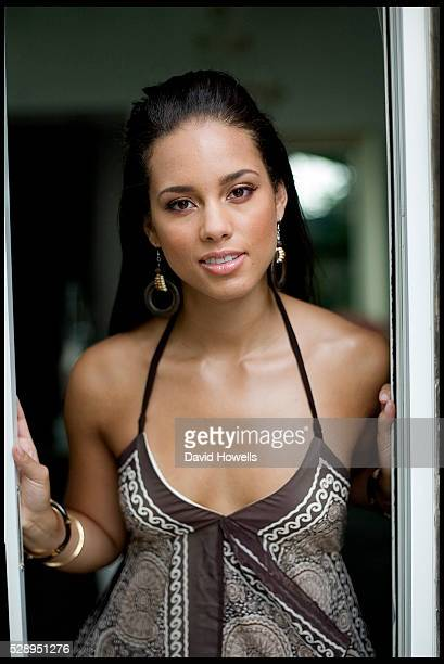 Alicia Keys at the Hudson Hotel