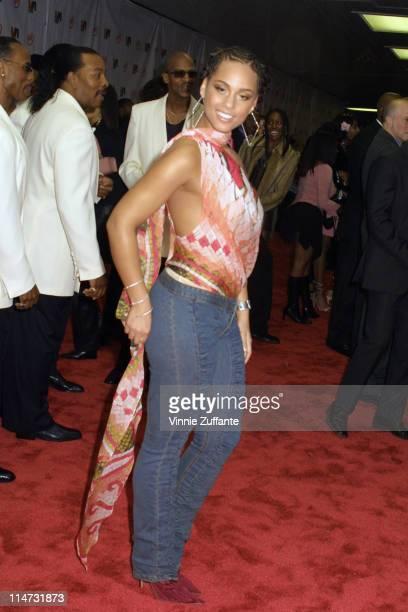 Alicia Keys attending the 2003 Vibe Awards at the Santa Monica Civic Auditorium in Santa Monica Ca 11/20/03