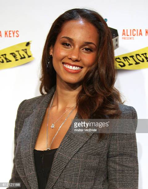 Walter alicia stock photos and pictures getty images alicia keys attending the meet greet the cast creative team of stick fly at m4hsunfo