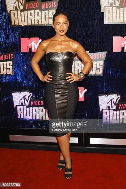 Alicia Keys attends 2007 MTV VMA'S ARRIVALS at The Palms Hotel and Casino on September 9 2007 in Las Vegas NV